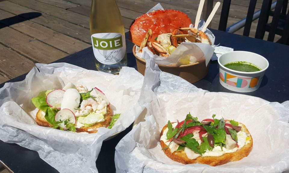 Popina Canteen seafood