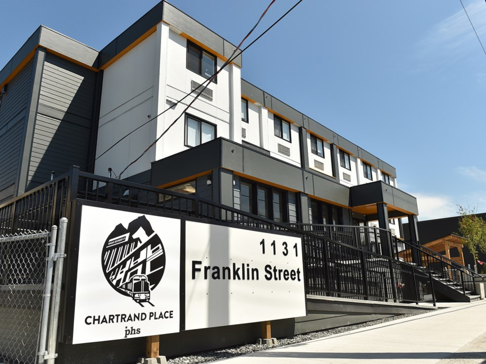 Chartrand Place, a 39-unit building at 1131 Franklin St., is named after Michel Chartrand who died i