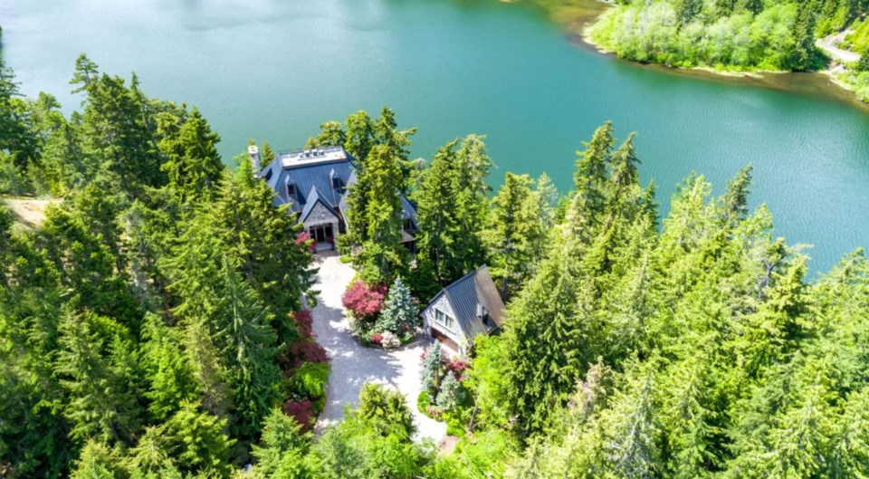 Chateau du Lac Nita Lake Whistler listing