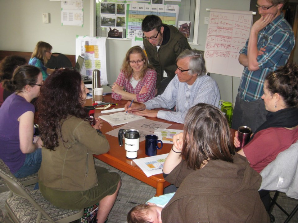 Charles Durrett helped design the city's first cohousing project — Vancouver Cohousing in East Vanc