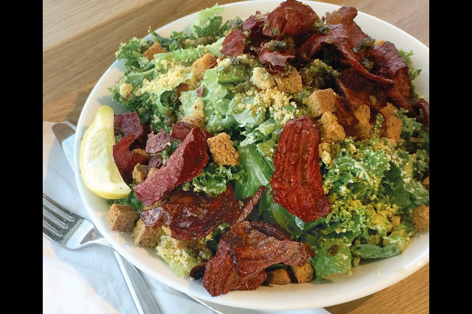 The menu at Heirloom Vegetarian Restaurant is seasonally-driven vegetarian fare that draws on many influences.