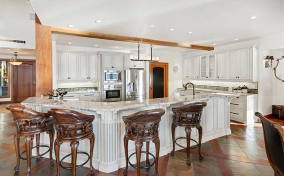 Stuart Island kitchen