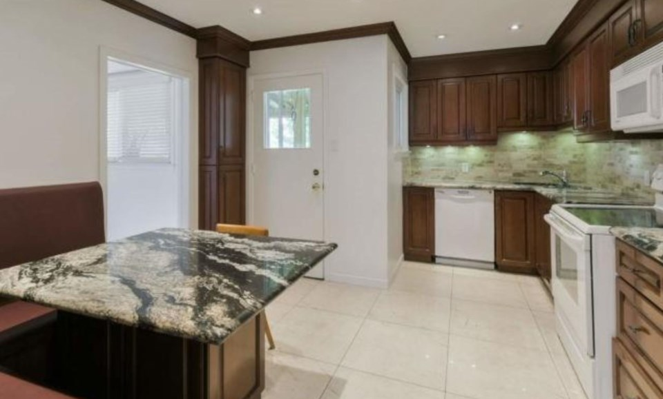 Rob Ford home kitchen