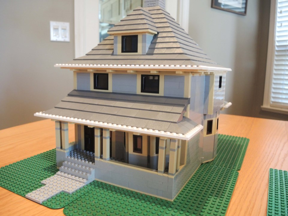 Little Steveston...made out of Lego_4