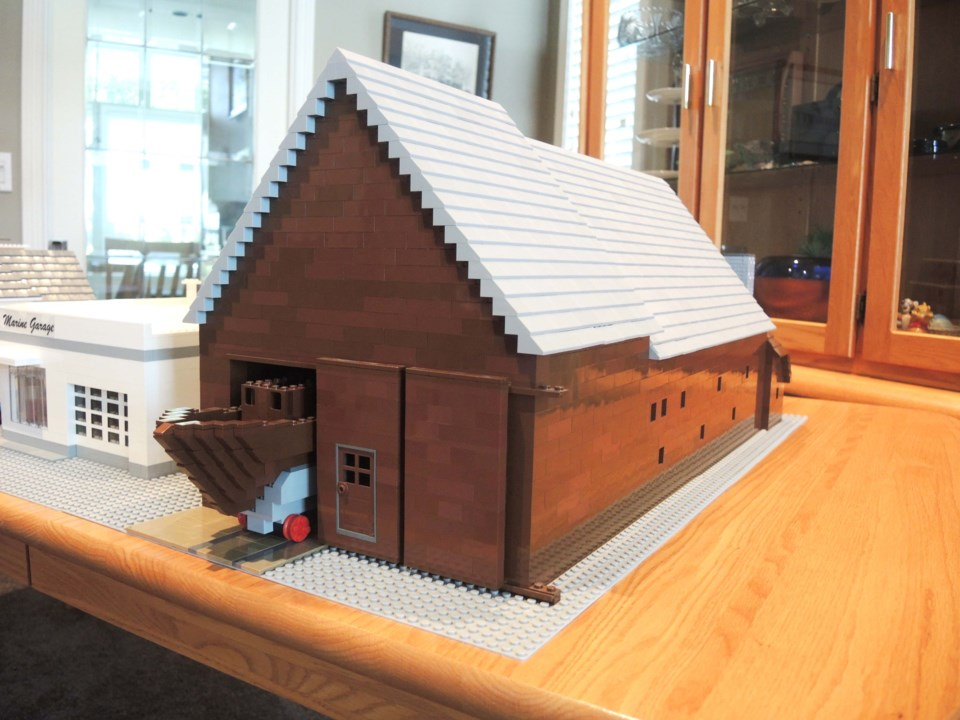 Little Steveston...made out of Lego_7