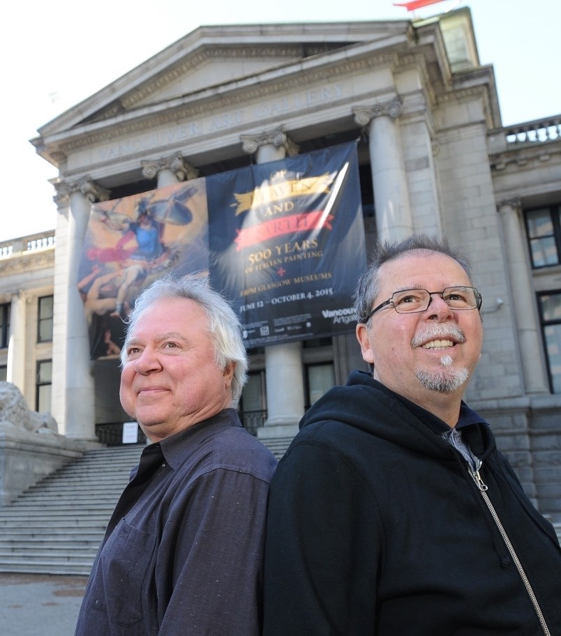 John Orysik and Ken Pickering