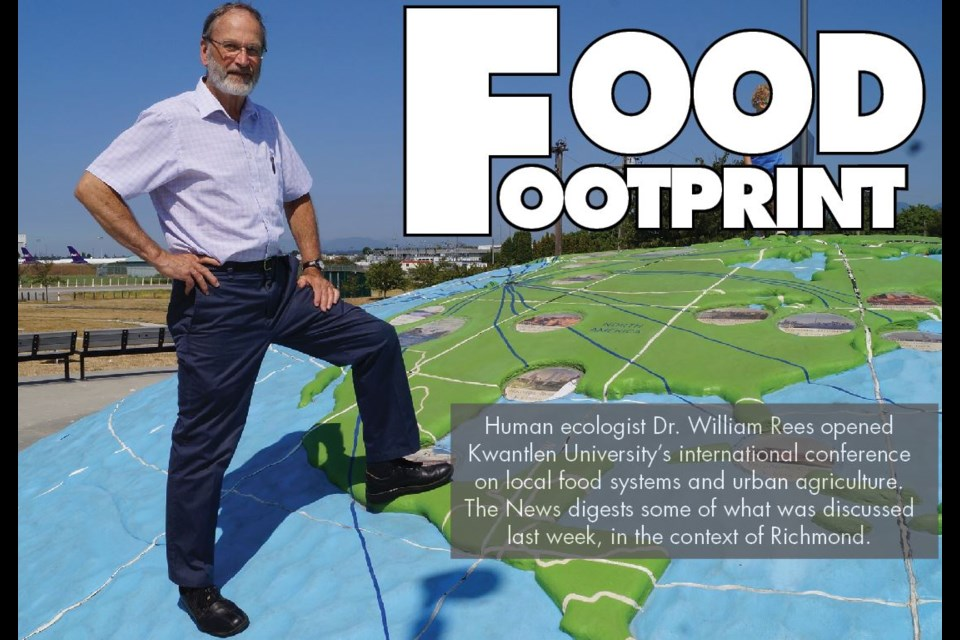 """Prof. William Rees has a dark view of the existing and growing climate crisis. Calculate your """"ecofootprint"""" at FootprintCalculator.org"""