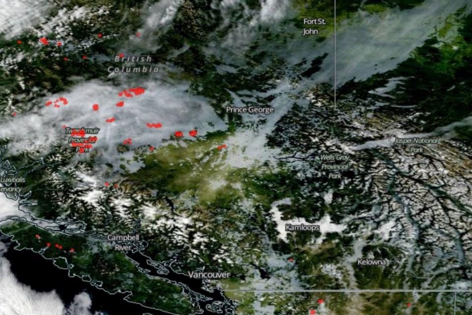 bc wild fires