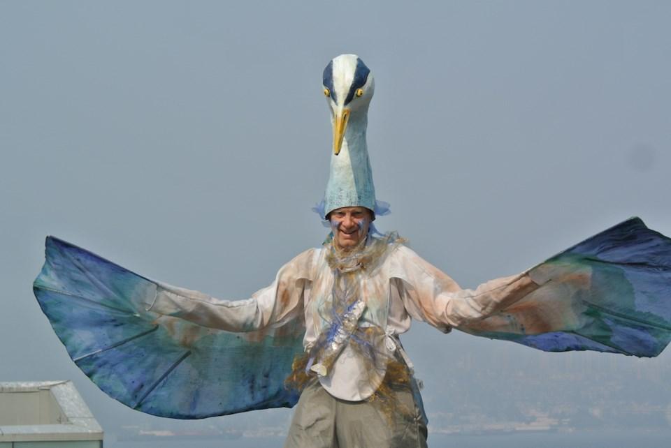 bird fest parade of bird