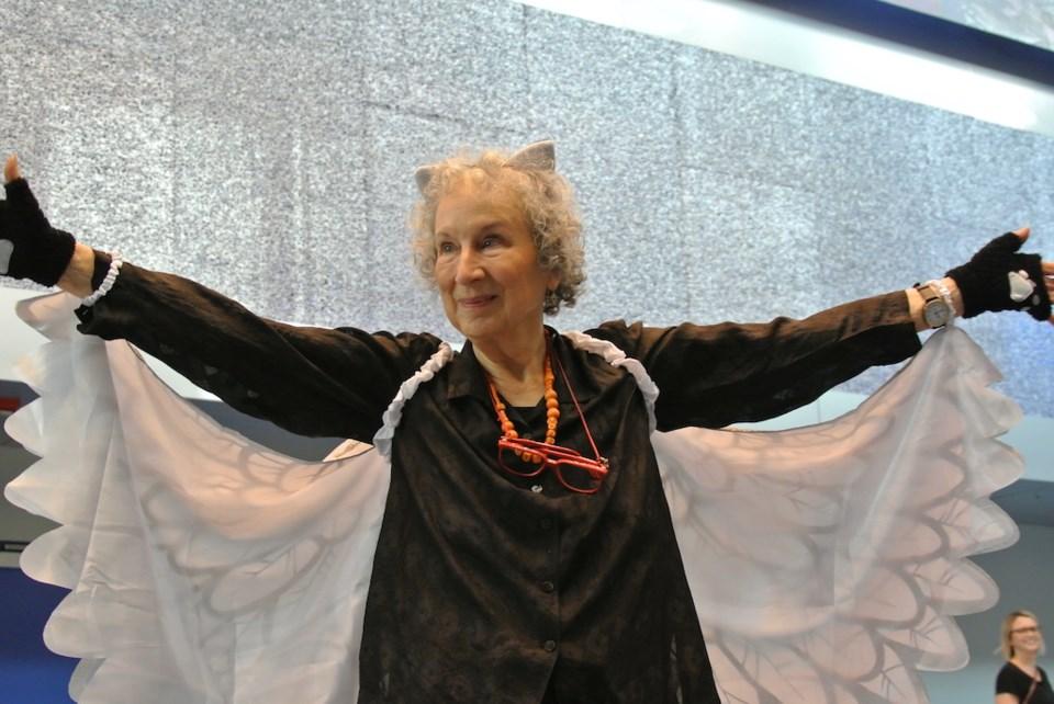 Margaret Atwood as Angel Catbird