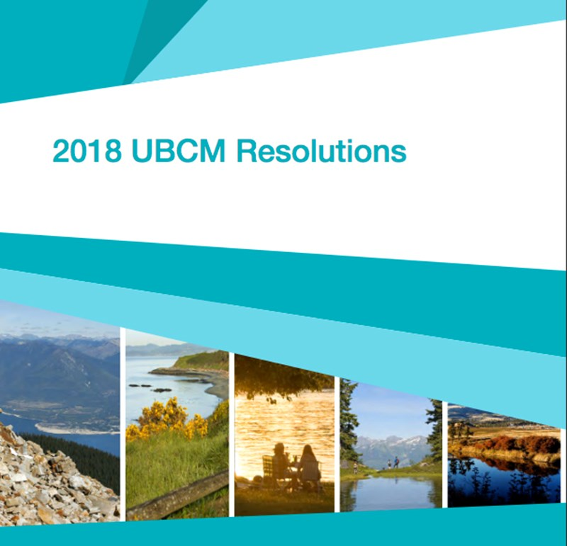 UBCM resolutions book