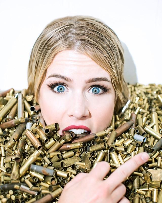Emily Bett Rickards in Bite the Bullet Stories