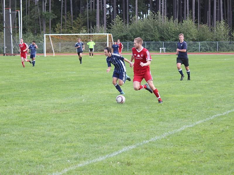 Powell River Villa midfielder Jake Kenmuir