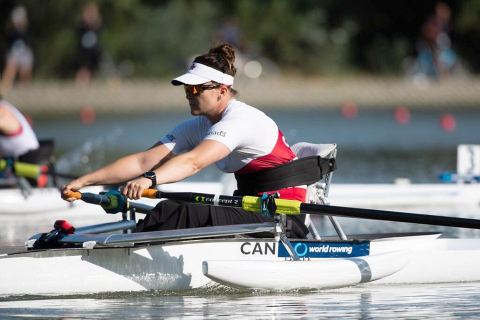 Delta Deas Rowing Club's Tracy Van Asseldonk finished sixth overall in the PR1 Women's Single on Sunday at the World Rowing Championships in Bulgaria.