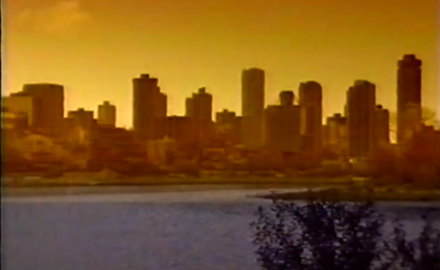 The video is a double throwback of Vancouver in the 1930s vs. 1990s