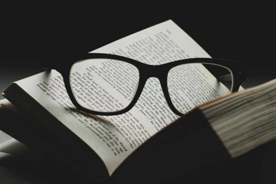 book, literature, stock photo