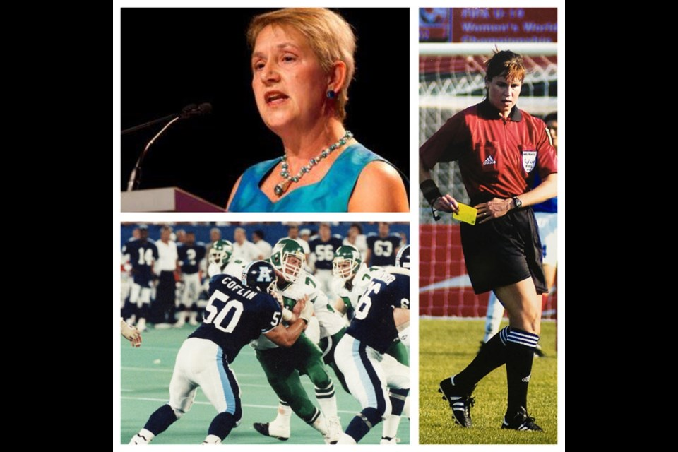 Three of this year's seven inductees into the Delta Sports Hall of Fame include (from top left) Laurel Crosby, Jill Proctor and John Coflin.