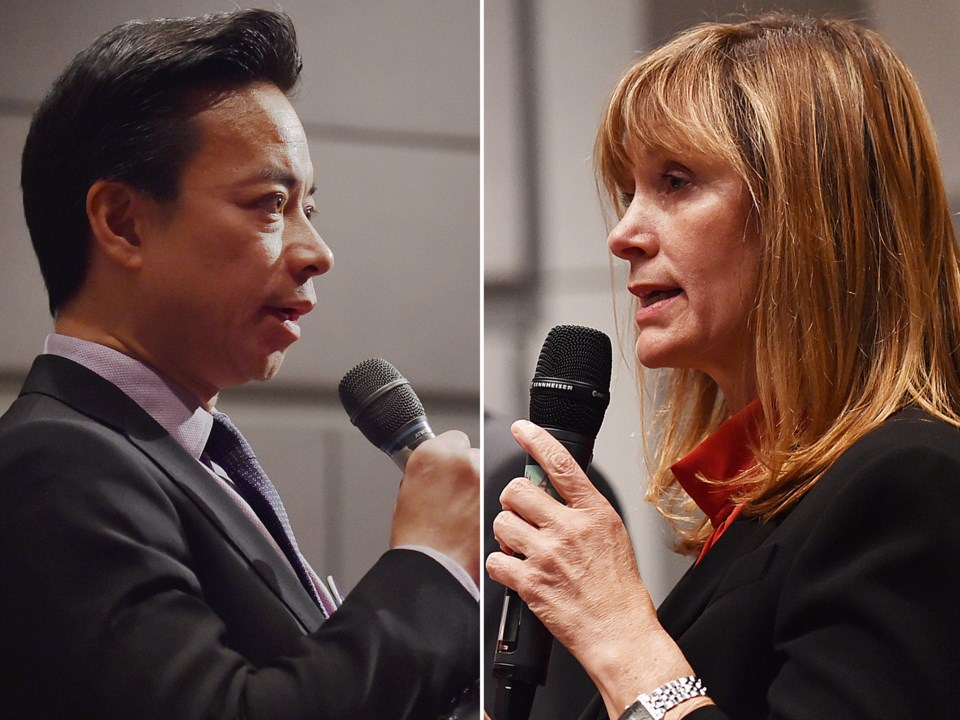 Columnist Michael Geller favours the NPA's Ken Sim or independent candidate Shauna Sylvester as mayo