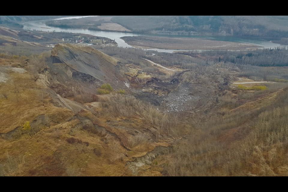 Old Fort landslide.