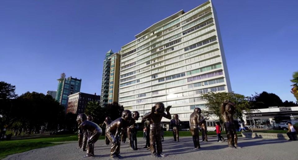 West End penthouse exterior