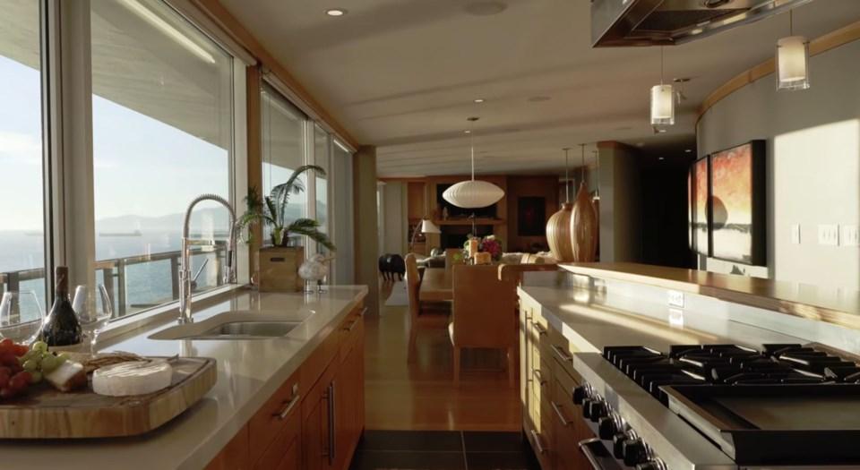 West End penthouse kitchen