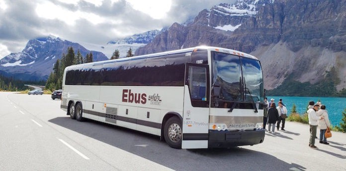 Alberta bus company Ebus has been given the green light to expand its service in B.C. to fill the ga
