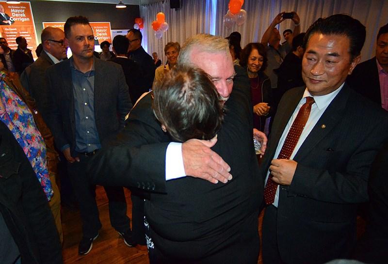 Derek Corrigan, election 2018