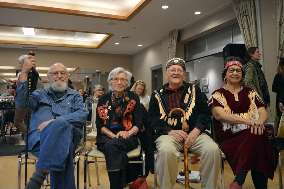 The recipients: Thor Froslev, Chésha7 (Gwen Harry), Kiyowil (Bob Baker), and Humteya (Shirley Toman).