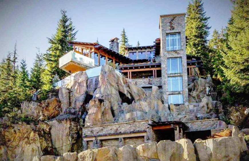 Whistler cliff mansion main
