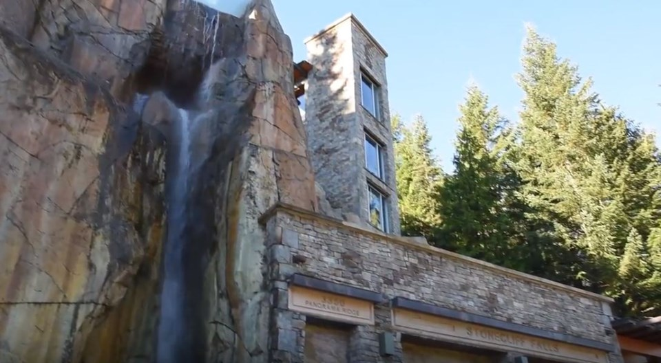 Whistler cliff mansion waterfall YouTube