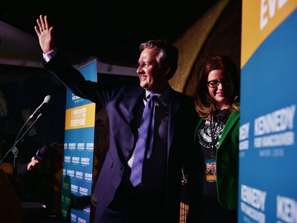 Vancouver's mayor-elect Kennedy Stewart said after his victory that the 19 cannabis dispensaries tha