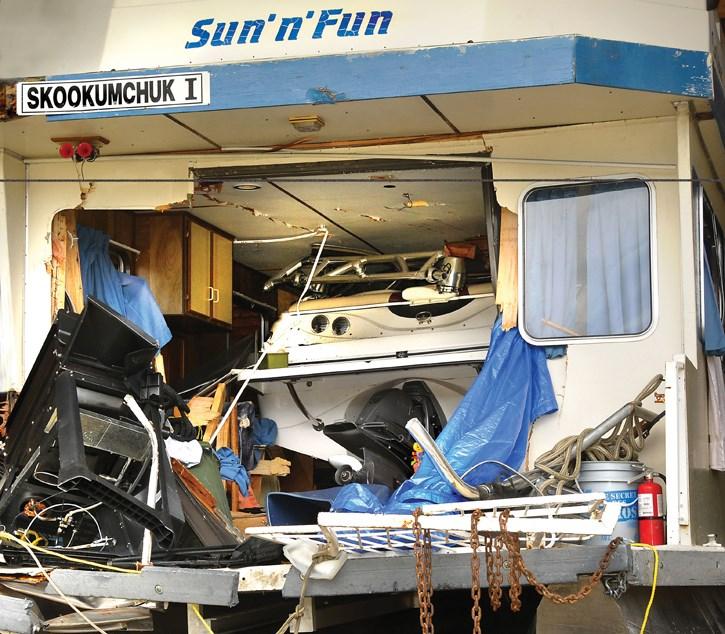 speedboat collision