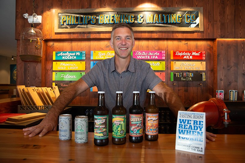 Phillips Brewing and Malting Co. founder Matt Phillips decided to launch a craft soda line in 2012 w