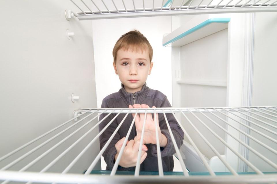 child poverty, stock photo