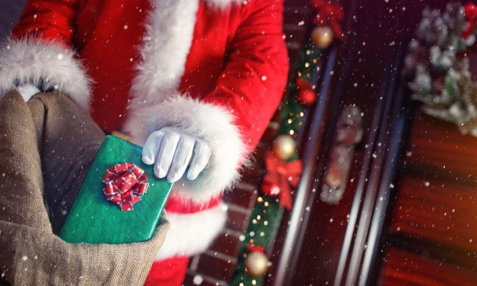 Santa Claus, stock photo