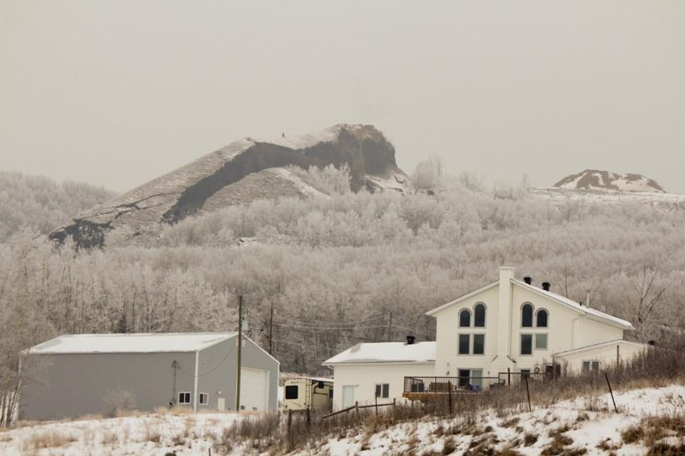 Old Fort landslide, Nov. 17, 2018.