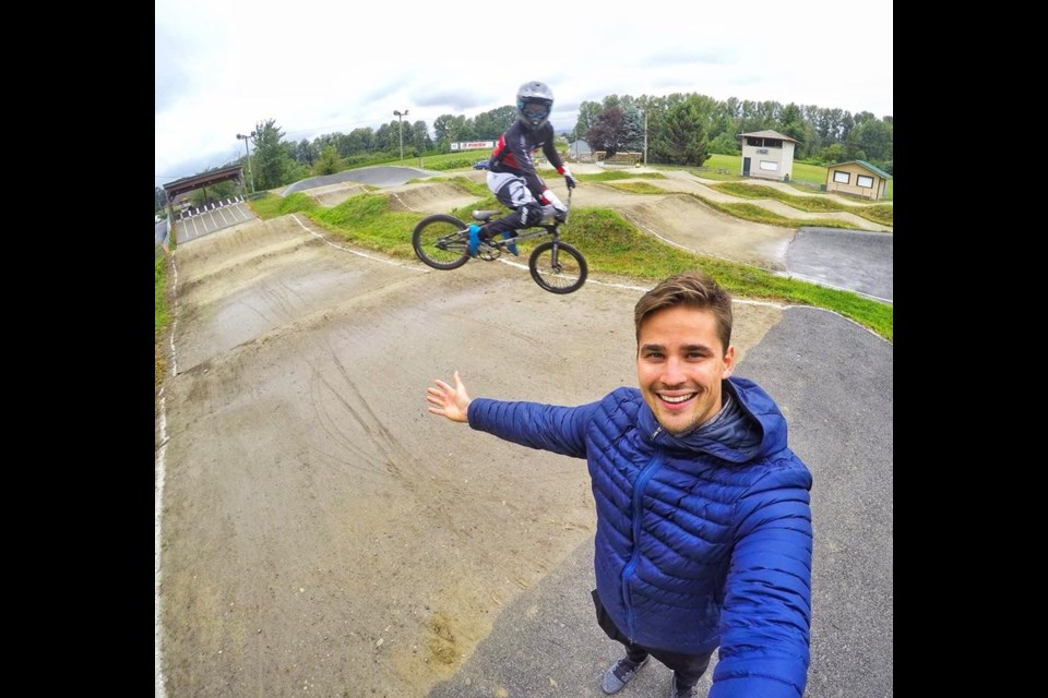 Canadian Olympic BMX rider Tory Nyhaug of Coquitlam is upset with the city's decision to get rid of the BMX track in Town Centre Park to make room for a festival lawn for the TD Community Plaza.