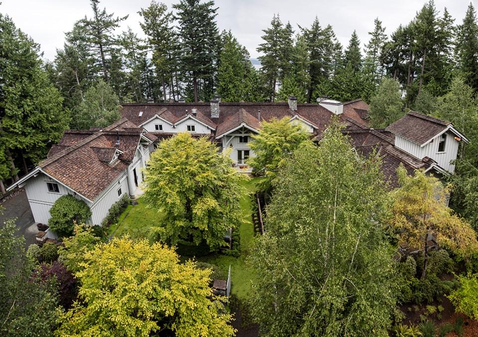 Subtle Islands house aerial