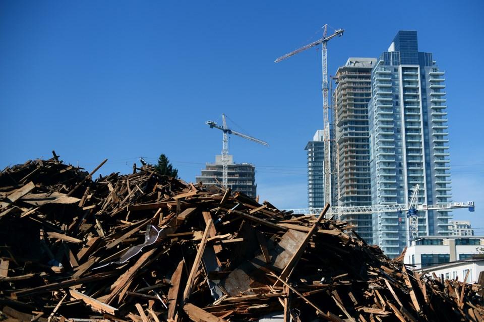 Sussex demolition