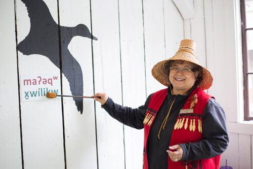 Local indigenous educators will teach thousands of Burnaby students about First Nations culture. Last year, one of those educators was Carleen Thomas.