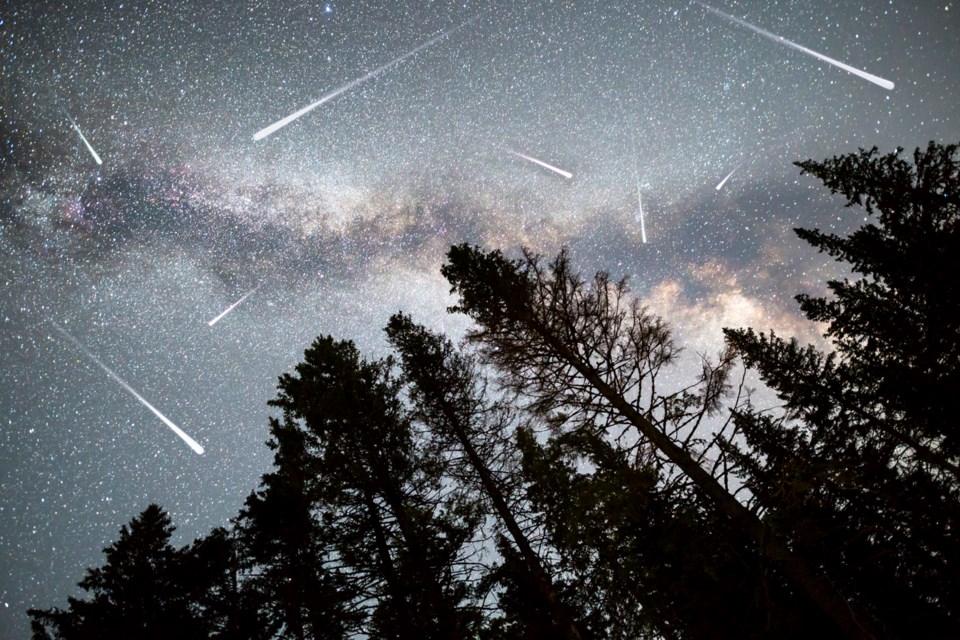 Local star gazers will enjoy a Geminid meteor shower next week. Photo iStock
