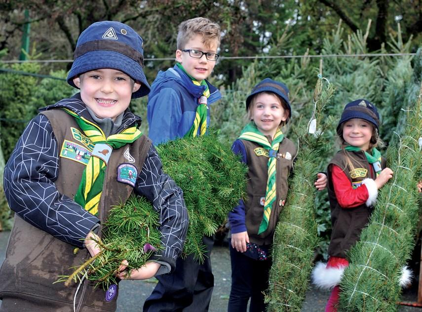 Parkgate Scouts Xmas Trees