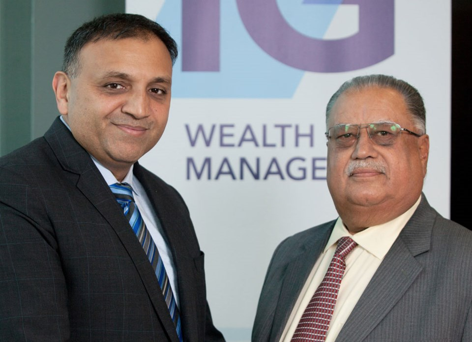 Harjit Sandhu at IG Wealth Management