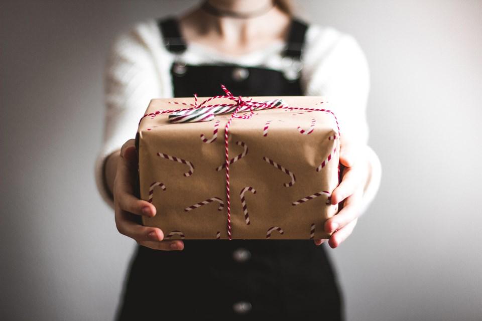 present, stock photo