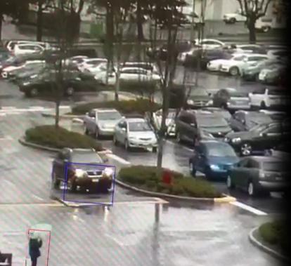 Pedestrian struck Lansdowne Centre