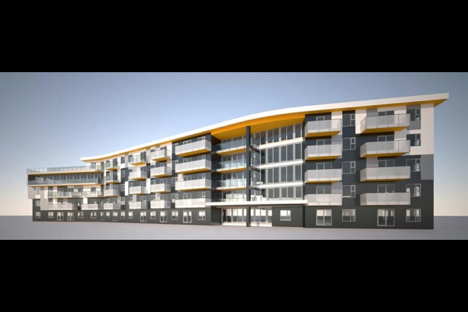 Construction on the rental building is expected to be completed by early 2021.