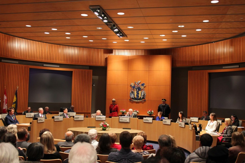 Richmond city council. Photo: Alyse Kotyk