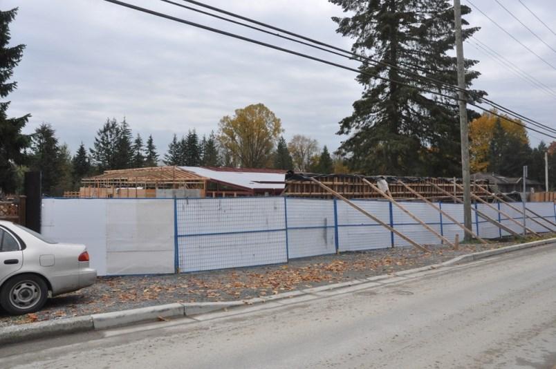 Buble's house construciton