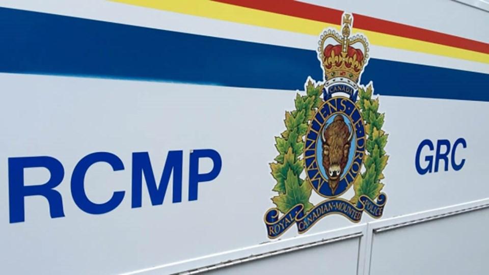 RCMP logo car door