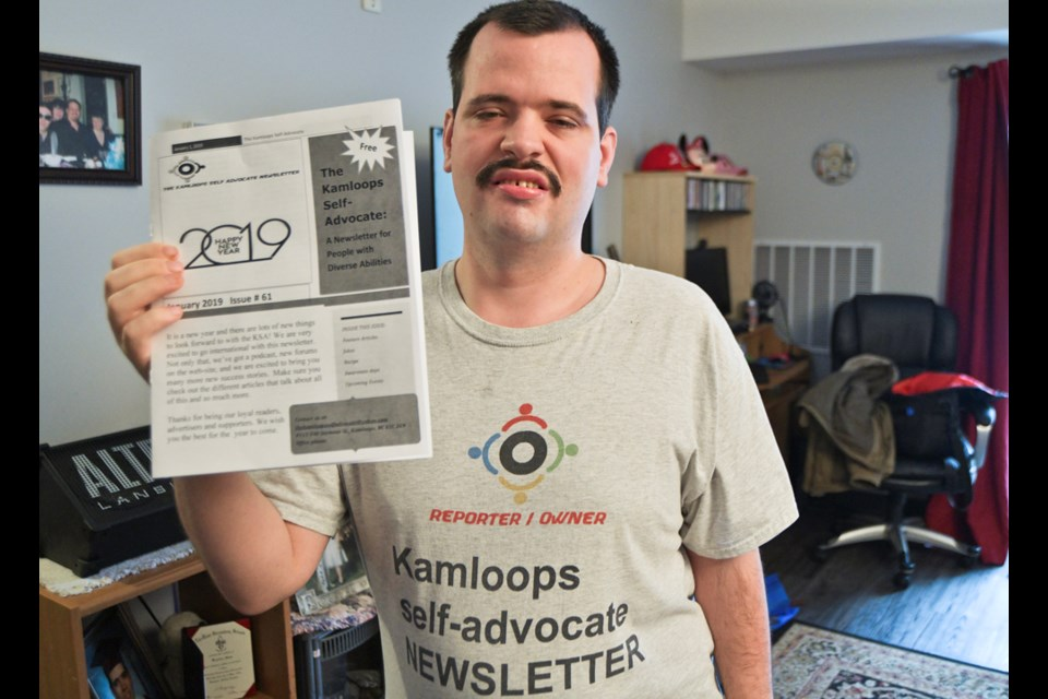 Krystian Shaw, who publishes the Kamloops Self-Advocate, has expanded on his work on disability awareness and telling success stories to help reduce stigma and discrimination around all people. His newsletter is now complemented by a podcast.